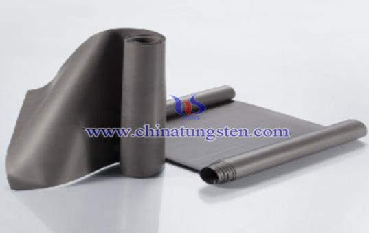 Polymer tungsten sheet picture